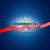 Den nezávislosti pozadí šablony — Stock vektor