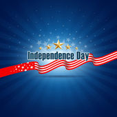 Independence day template background — Vector de stock