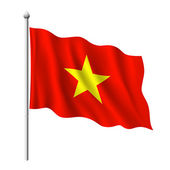 Flag of Vietnam — Stock Vector