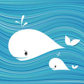 White whale — Stock Vector