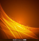Abstract yellow and orange background design — Stock Vector