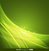 Abstract green background design — Stock Vector