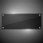 Vector new plate transparency design background — Stok Vektör