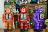 Un equipo de robots — Foto de Stock