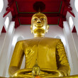 Stock Photo: Larger Buddha, Ang Thong province, Thailand.