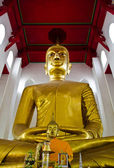 A larger Buddha, Ang Thong province, Thailand. — Stock Photo