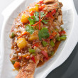 Thai Red Snapper and Tamarind Sauce - Photo