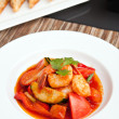 Thai Sweet and Sour Shrimp — Stock Photo