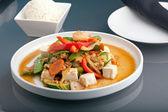 Thai Tofu Dish — Stock Photo
