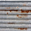 Stock Photo: Corrugated Metal Texture