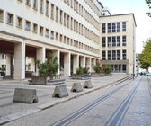 Department of Physics, University of Coimbra — Stock Photo