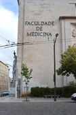 Faculty of Medicine, University of Coimbra — Стоковое фото