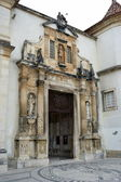 View of the Iron Door of the Coimbra University — Stock Photo