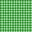 Green plaid pattern — Stock Vector