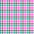 Stock Vector: Seamless plaid pattern