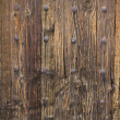 Texture of an old wooden door — Stock Photo