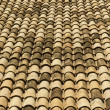Stock Photo: Old tiled roof