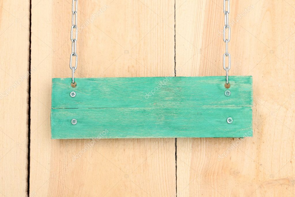 Blank Wooden Sign Board Color Wooden Sign Board on