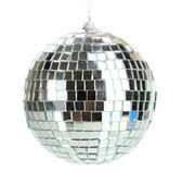 Disco ball isolated on white — Stock Photo