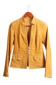 Women's brown jacket — Stock Photo