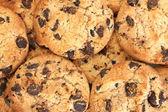 Cookies de chocolate, close-up — Foto Stock
