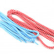 Colorful shoelaces isolated on white — Stock Photo #11132796