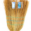 Broom sweep euro close-up — Stock Photo #11152298