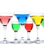 Alcoholic cocktails isolated on white — Stock Photo #11264947