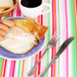 Classical breakfast — Stock Photo #11318487
