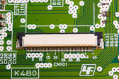 Modern electronic board close-up — Stock Photo