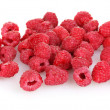Raspberries isolated on white — Stock Photo #11484603