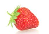 Sweet ripe strawberry isolated on white — Stock Photo