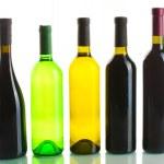 Bottles of wine isolated on white — Stock Photo #11523189