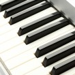Background of synthesizer keyboard — Stock Photo #11533048