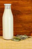 Koncepcja dostawy mleka — Zdjęcie stockowe