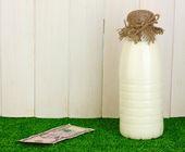 Concepto de leche entrega — Foto de Stock