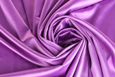 Violet silk drape, background — Stock Photo