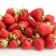 Sweet ripe strawberries isolated on white — Stock Photo