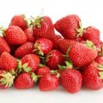 Sweet ripe strawberries isolated on white — Stock Photo #11760065