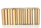 Stos książek na białym tle — Zdjęcie stockowe
