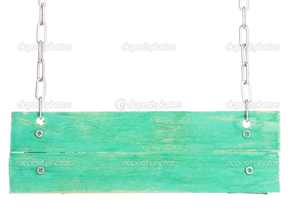 Blank Wooden Sign Board Color Wooden Sign Board
