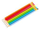 Ołówków na białym tle — Zdjęcie stockowe