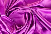 Violet silk drape, background — Stock Photo