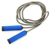 Skipping rope isolated on white — Stock Photo