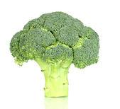 Fresh broccoli isolated on white — Stockfoto
