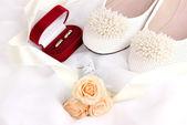 Wedding accessories — Stock Photo