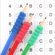 A, B, C, D test close-up — Stock Photo #11998952