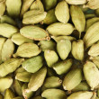 Foto Stock: Green cardamom close-up