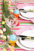 сервировка стола пасха — Стоковое фото
