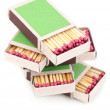 Stock Photo: Matches isolated on white